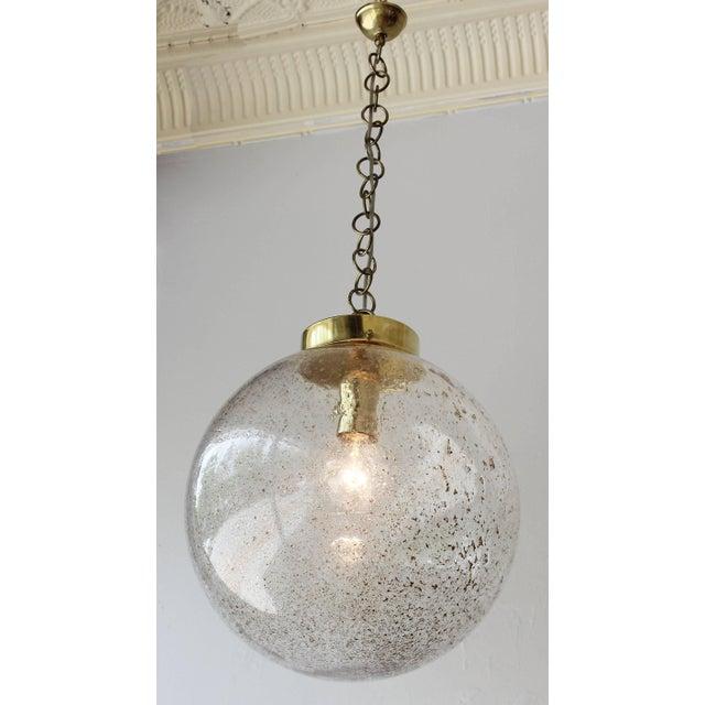 1960s Murano Champagne Globe For Sale - Image 5 of 6