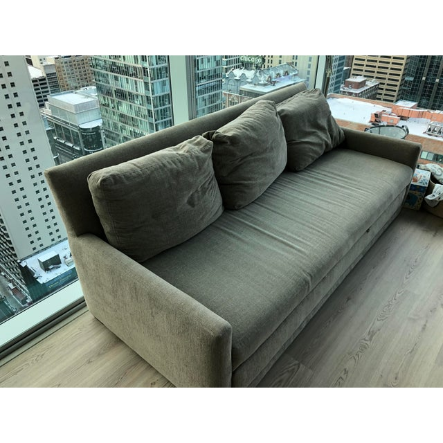 Selling our Reston Queen Trundle Sleeper Sofa from Crate & Barrel (originally prices at $2,499) in excellent condition due...