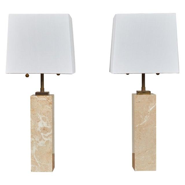 Robsjohn-Gibbings Table Lamps - a Pair For Sale - Image 9 of 9