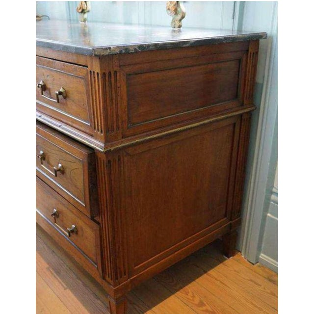 Black Louis XVI Commode/Desk For Sale - Image 8 of 10
