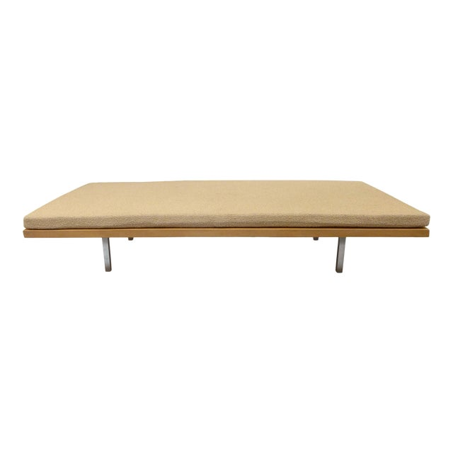 Custom Bench or Daybed by Amir Farr for Oscar Niemeyer's Strick House For Sale