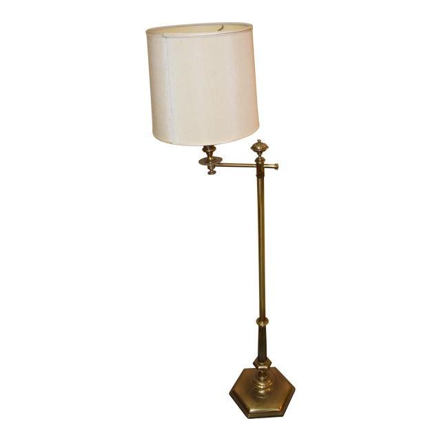 Mid century stiffel stationary swing arm floor lamp chairish mid century stiffel stationary swing arm floor lamp aloadofball Image collections