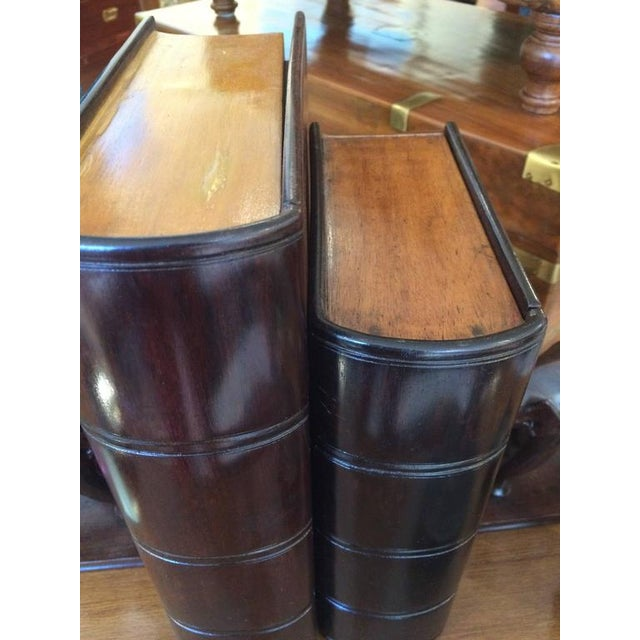 Campaign Satinwood and Rosewood Book Box For Sale - Image 3 of 6