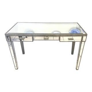 Mirrored Console Desk