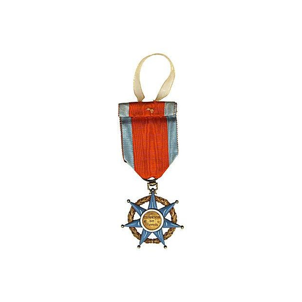 French Order of Social Merit Ornament - Image 3 of 3