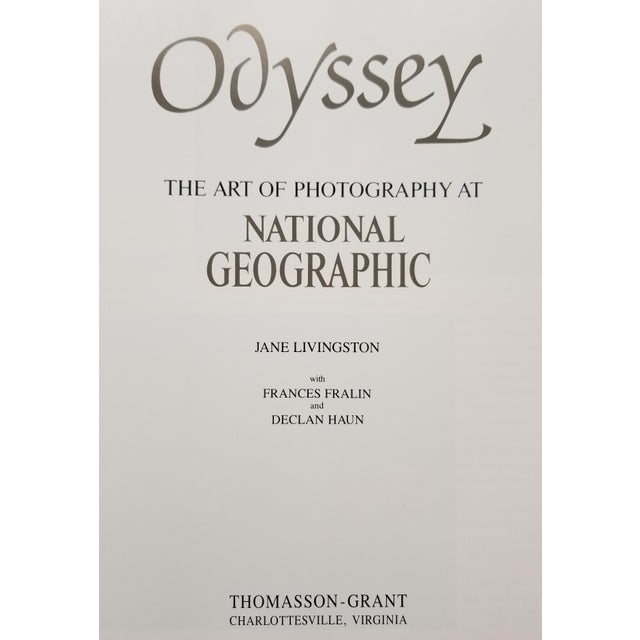 Contemporary Odyssey - the Art of Photography at National Geographic 1988 For Sale - Image 3 of 9