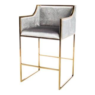 Erin Gold Bar Chair