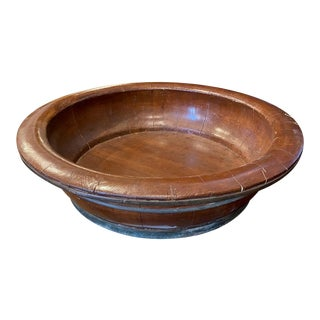 Ancient 9th Century Wooden Tub Planter For Sale
