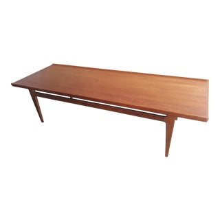 Finn Juhl for France and Son Teak Coffee Table For Sale