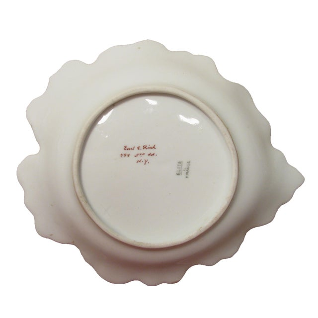 French Limoges Sauce Boat W/ Underplate For Sale - Image 6 of 7