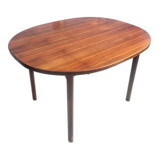 Mid-Century Modern Teak Dining Table With Expanding Leaves- For Sale