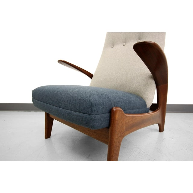 Vintage Gimson & Slater Reclining Lounge Chairs - A Pair - Image 7 of 7