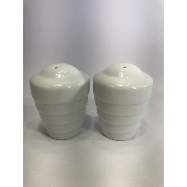 1990s Krup's Frank Lloyd Wright Guggenheim Collection Teapot and Salt and Pepper Shakers - Set of 3 For Sale - Image 5 of 12