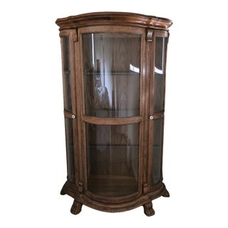 Pulaski Keepsakes Collection Bow Glass Curio Cabinet For Sale
