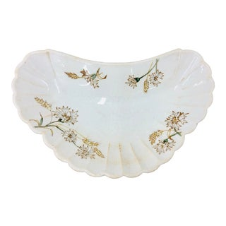 Antique Porcelain Dish For Sale