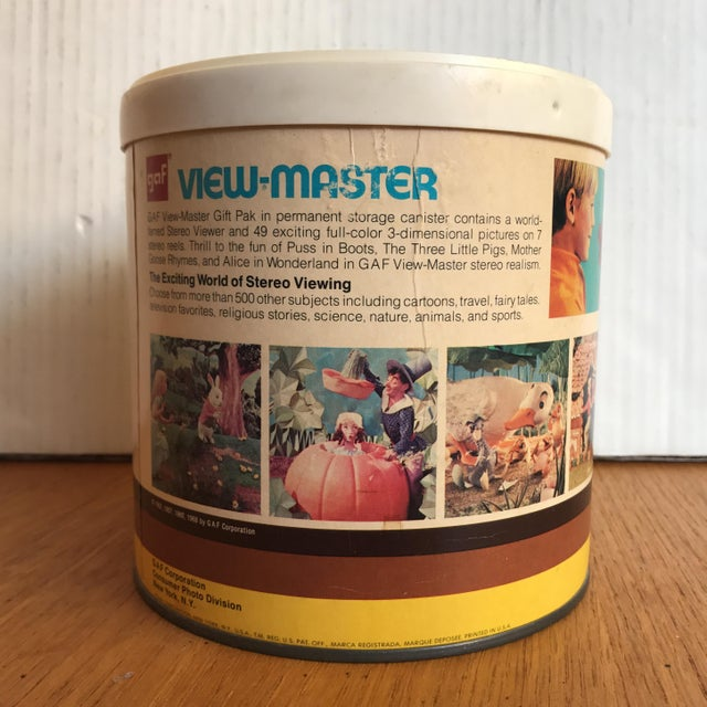 Plastic Vintage Gaf View-Master With Original Box For Sale - Image 7 of 7