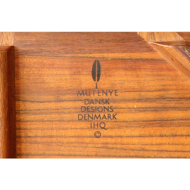 Early Dansk Rare Woods Mutenye Tray by Quistgaard - Image 3 of 3