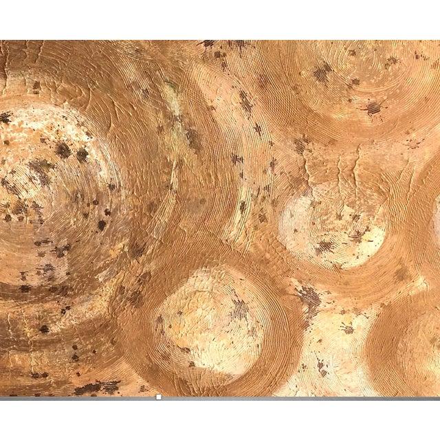 Bryan Boomershine Gold Rings Painting - Image 5 of 5