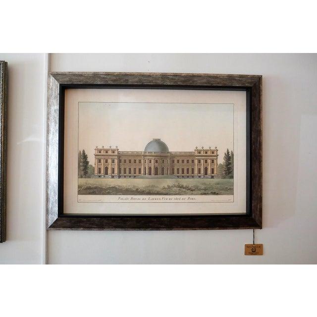 "Very Light Frame. Soothing Muted Colors. Image of ""Palais Royal de Laeken. Vue du cote du Parc"". New from Paragon Picture..."