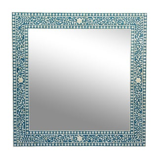 Inlay Blue Mirror Frame For Sale