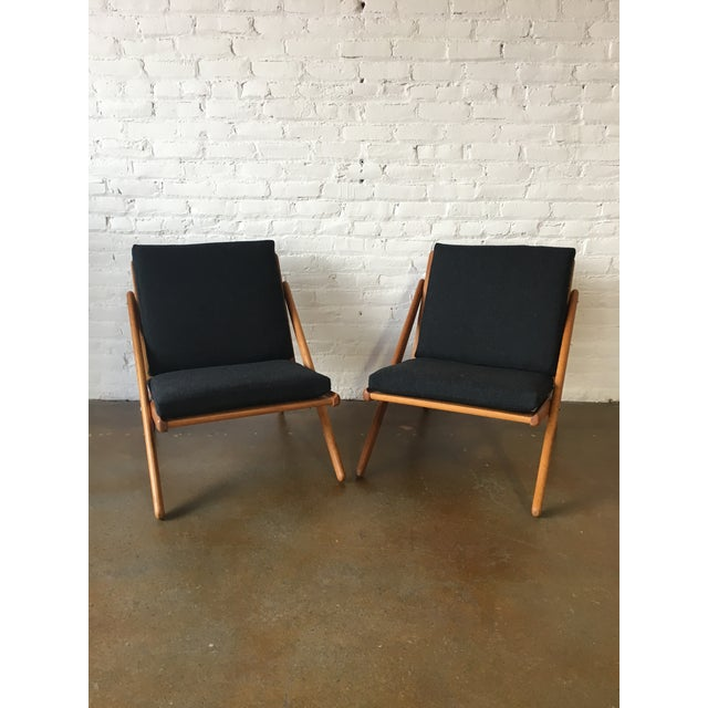 """Vintage """"Z"""" Chairs - A Pair - Image 2 of 5"""