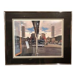 Richard Estes Photo Realist Screenprint For Sale