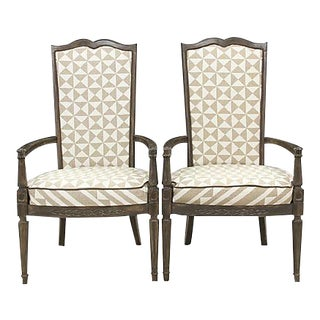 Louis XVI Nuba Chairs - A Pair For Sale