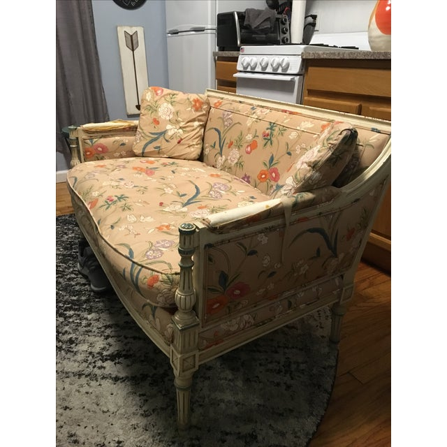 French Style Vintage Loveseat Settee - Image 6 of 8