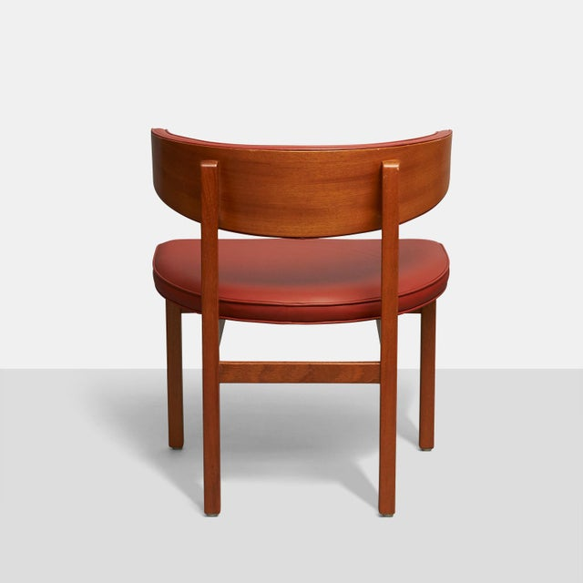 Borge Mogensen set of 8 Dining or Conference chairs For Sale In San Francisco - Image 6 of 6