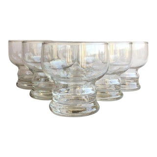 Vintage Roly Poly Cocktail Glass - Set of 6 For Sale