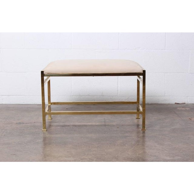 1950s Bass Bench and Table by Edward Wormley for Dunbar For Sale - Image 5 of 10