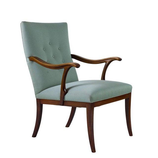 Frits Henningsen lounge chair.