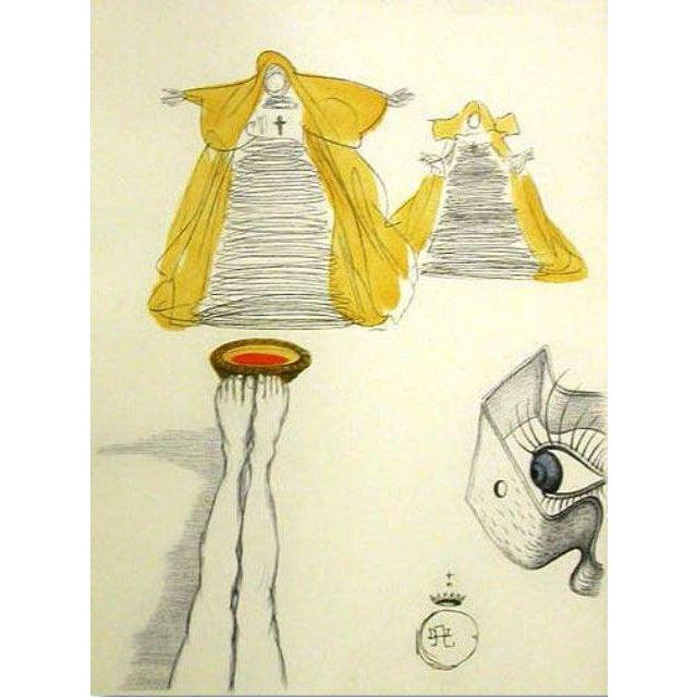 """Salvador Dali """"Un Ambigu Stimulant"""" Héliogravure For Sale"""