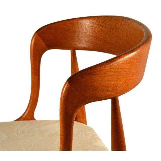 Johannes Andersen Teak Dining Chairs- Set of 6 - Image 5 of 6