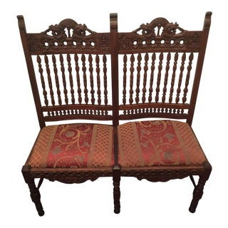 Antique Baroque Hand Carved Chair