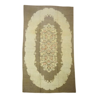Palace Size American Hook Rug, 11'3'' X 21'7'' For Sale