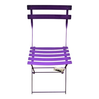 Fermob Bistro Bright Purple Chair For Sale