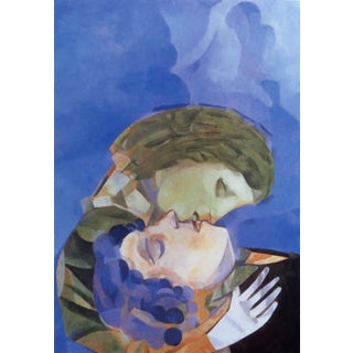 2002 After Marc Chagall Pair of Overs, l.e. Numbered Giclee For Sale
