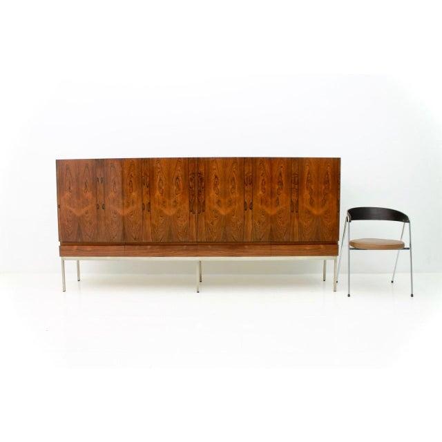 Dieter Waeckerlin Rosewood Sideboard by Dieter Waeckerlin for Behr, 1958 For Sale - Image 4 of 8
