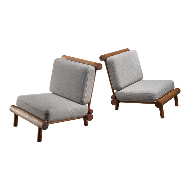 Charlotte Perriand Chairs From La Chachette, France For Sale