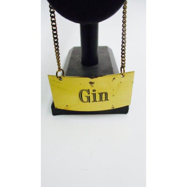Italian Italian Brass Liquor Tags Labels - Set of 4 For Sale - Image 3 of 11