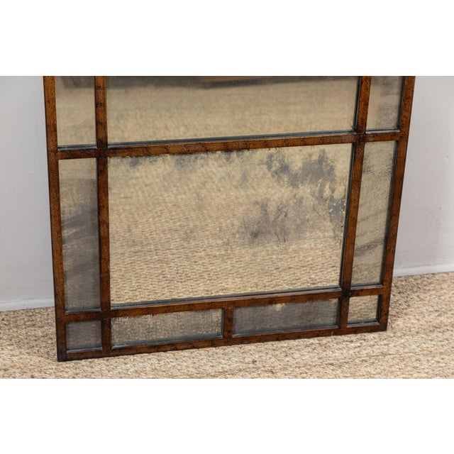 Vintage Smokey Mirrored Panel For Sale - Image 4 of 6