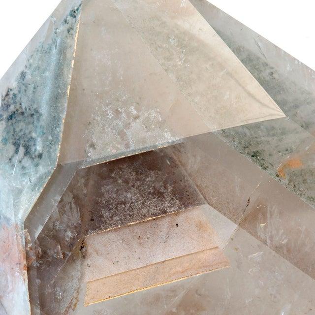 Contemporary Phantom Quartz Crystal For Sale - Image 3 of 5