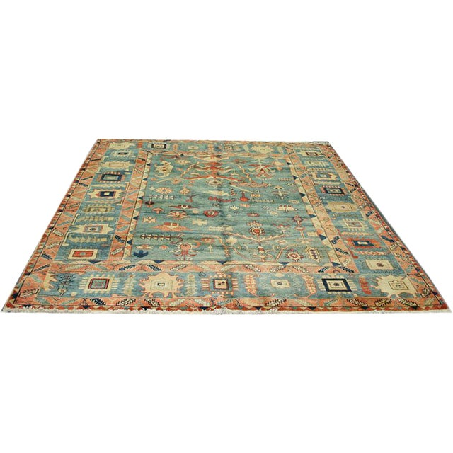 Tribal Persian Bakhshayesh Style Rug - 7′11″ × 8′ For Sale