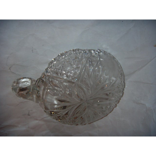 Mid-Century Cut Glass Candy Dish - Image 4 of 5