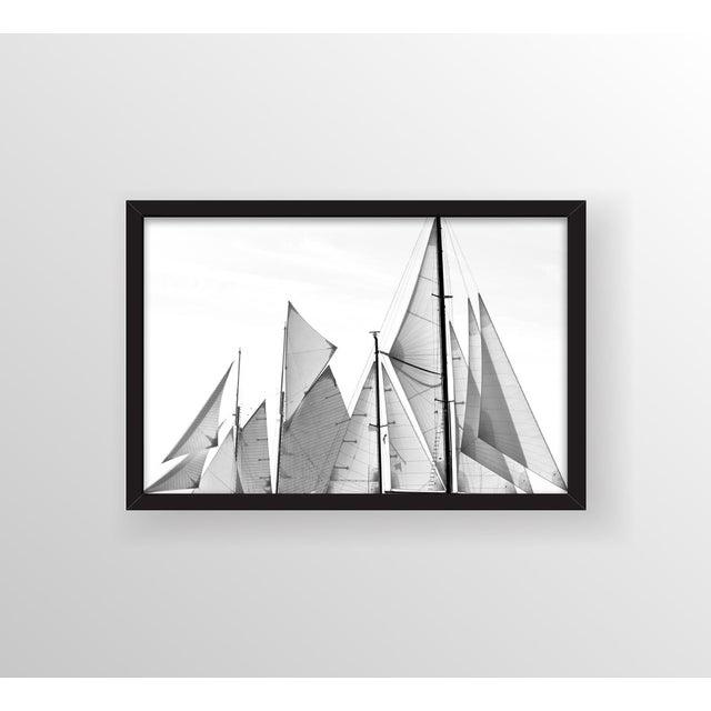 "Kristina Strobel ""Triangles"" Framed Photo - Image 2 of 3"