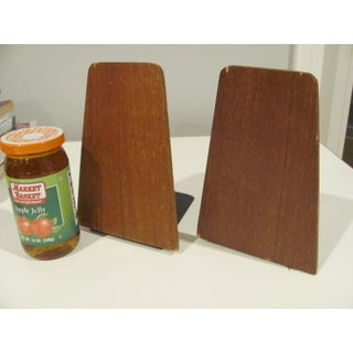 Danish Modern Teak Bookends by Viking of Japan - a Pair Preview