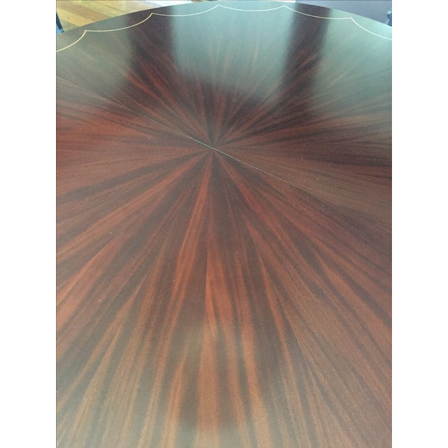 Oval Dining Table With 2 Leaves - Image 4 of 5