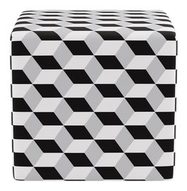 Image of Newly Made Cube Ottomans
