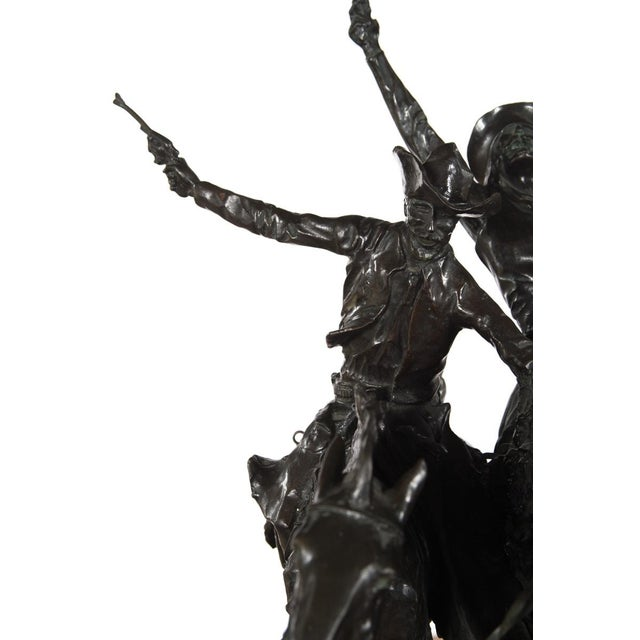 "F. Remington ""Coming Through the Rye"" Bronze Sculpture - Image 7 of 11"